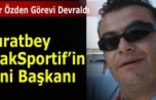 MURATBEY UŞAKSPORTİF'DE YENİ BAŞKAN BELLİ...