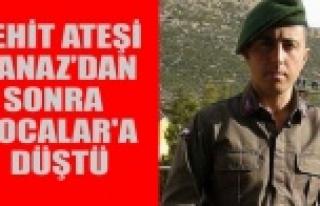 ŞEHİT ATEŞİ BANAZ'DAN SONRA HOCALAR'A...