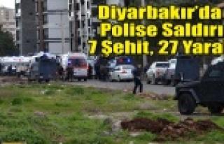 Diyarbakır'da terör saldırısı: 7 ŞEHİT,...