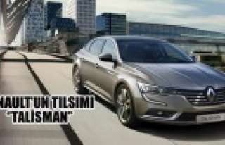 RENAULT'UN TILSIMI ''TALİSMAN''