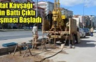 """STAT KAVŞAĞI İÇİN """"BATTI ÇIKTI ÇALIŞMASI""""..."""