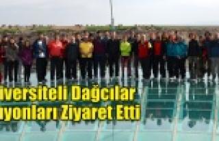 ÜNİVERSİTELİ DAĞCILAR ULUBEY KANYONLARINI ZİYARET...