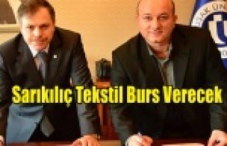 Uşak Üniversitesi ve Sarıkılıç Tekstil arasında...