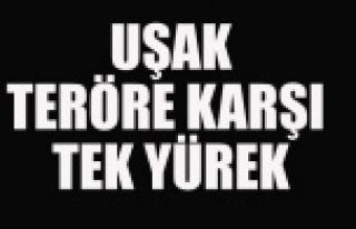 UŞAK'TAN ANKARA SALDIRISINA TEPKİLER