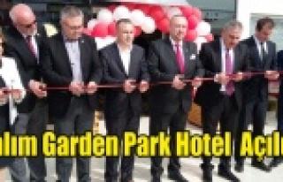 YALIM GARDEN PARK HOTEL AÇILDI