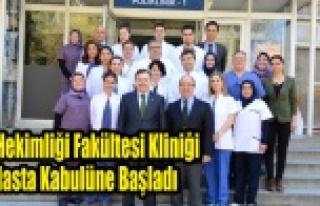 Diş Hekimliği Fakültesi Kliniği Hasta Kabulüne...