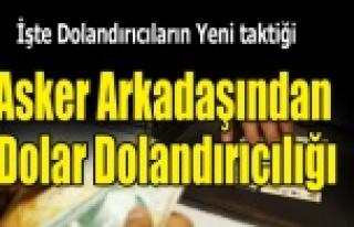 EŞME'DE DOLAR DOLANDIRICILIĞI
