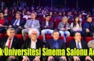 Uşak Üniversitesine Modern Sinema Salonu