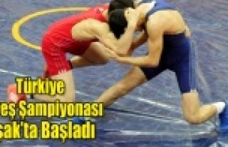 Yıldız Erkekler Grekoromen Türkiye Şampiyonası...