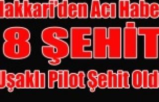 HAKKARİ'DE 8 ASKER ŞEHİT OLDU UŞAKTAN ŞEHİT...