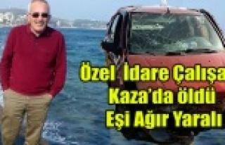UŞAK'TA TRAFİK KAZASI 1 ÖLÜ 2 YARALI