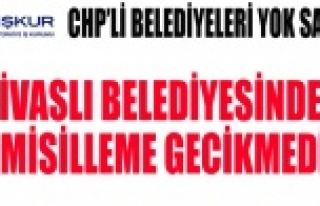 İŞKUR'DAN CHP'Lİ BELEDİYELERE YİNE...