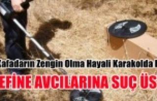 5 DEFİNE AVCISINA JANDARMADAN SUÇÜSTÜ