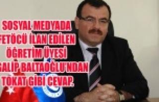 SOSYAL MEDYADA FETÖCÜ İLAN EDİLEN ÖĞRETİM ÜYESİ...