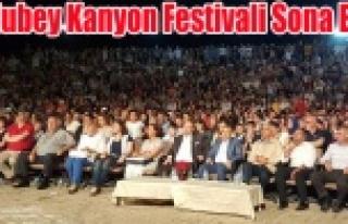 ULUBEY KANYON FESTİVALİ SONA ERDİ