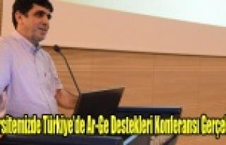 Uşak Üniversitesi'nde Türkiye'de Ar-Ge Destekleri...