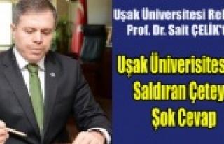 UŞAK ÜNİVERSİTESİ'NDENSAHTE HESAPLAR ÜZERİNDEN...