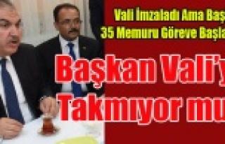 BAŞKAN VALİ'Yİ TAKMIYOR, UŞAK BELEDİYESİNİN...