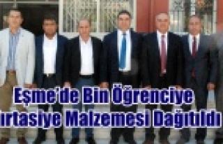 Eşme Belediyesi ve AK Partinin Katkıları ile Bin...