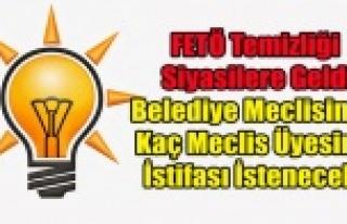 FETÖ TEMİZLİĞİ SİYASİLERE GELDİ