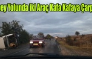 ULUBEY YOLUNDA KAZA 3 YARALI