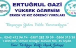 Yeni Türkiye Vakfı Uşakta Ertuğrul Gazi Yüksek...