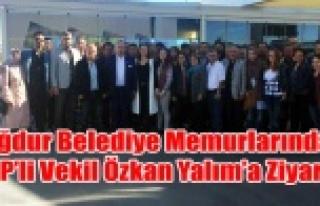 İFTİRA KURBANI BELEDİYE MEMURLARINDAN CHP'Lİ...