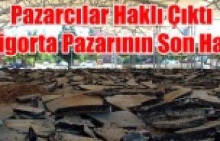 SİGORTA PAZARININ HALİNİ GÖRENLER BELEDİYE YÖNETİMİNE...