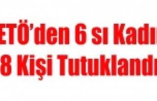 UŞAK'TA FETÖ'DEN 6 SI KADIN 8 KİŞİ...