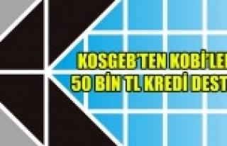 KOSGEB'TEN KOBİ'LERE 50 BİN TL ÜST LİMİTLİ...