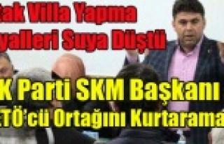 AK PARTİ SKM BAŞKANI FETÖ'DEN TUTUKLU ORTAĞINI...