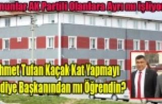 AK PARTİLİ BAŞKAN VE MECLİS ÜYELERİNE KAÇAK...
