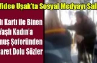 DOLMUŞ ŞOFÖRÜNÜN YAŞLI KADIN'A HAKARETİNE...