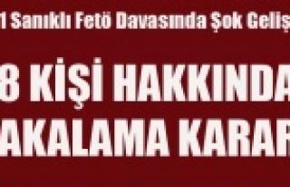 İLK FETÖ DAVASINDA 18 SANIĞA TUTUKLAMA KARARI VERİLDİ