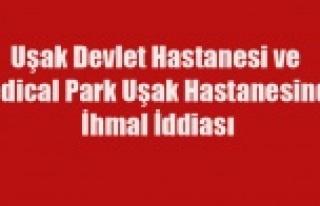 UŞAK'TA İKİ HASTANE DE Kİ İLGİSİZLİK...