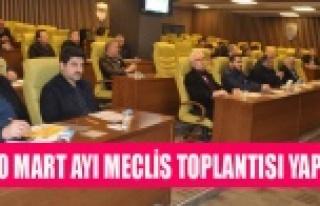 UTSO MART AYI MECLİS TOPLANTISI YAPILDI