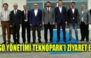 UTSO YÖNETİMİ TEKNOPARK'I ZİYARET ETTİ
