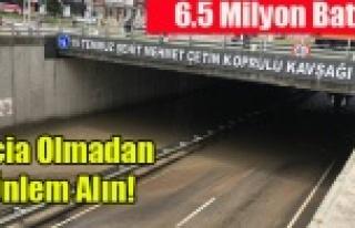 6.5 MİLYONLUK BATTI YAĞMUR TİSELESE TIKANIYOR