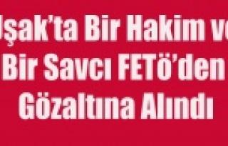 UŞAK'TA BİR HAKİM VE BİR SAVCI FETÖ'DEN...
