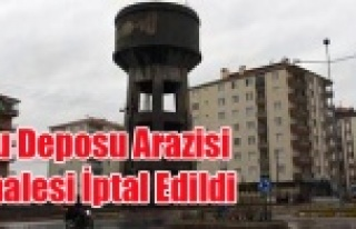 KARAKIRAN AYAKLI SU DEPOSU ALANI SATIŞ İHALESİ...
