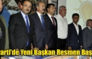 UŞAK AK PARTİ'DE YENİ BAŞKAN MEHMET ÇAKIN...