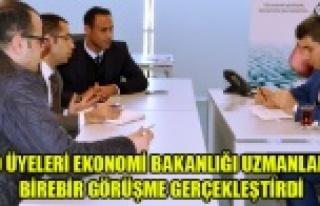 UTSO ÜYELERİ EKONOMİ BAKANLIĞI UZMANLARI İLE...