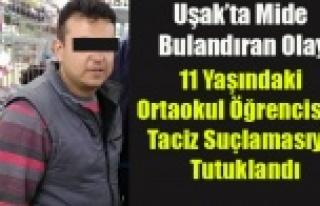 UŞAK'TA 11 YAŞINDAKİ KIZI TACİZ İDDİASIYLA...
