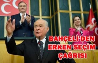 BAHÇELİ ERKEN SEÇİM İÇİN 26 AĞUSTOS DA YAPILSIN...