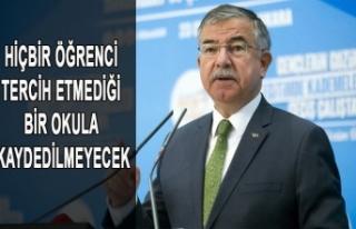 HİÇBİR ÖĞRENCİ TERCİH ETMEDİĞİ BİR OKULA...