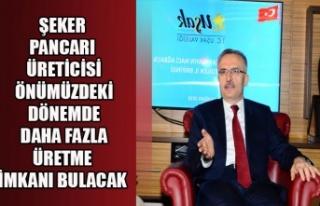 ŞEKER PANCARI ÜRETİCİSİ ÖNÜMÜZDEKİ DÖNEMDE...