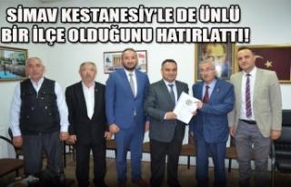 SİMAV KESTANESİY'LE DE ÜNLÜ BİR İLÇE OLDUĞUNU...