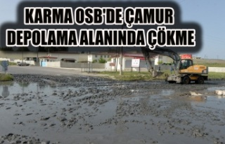 KARMA OSB'DE ÇAMUR DEPOLAMA ALANI ÇÖKTÜ UŞAK'I...