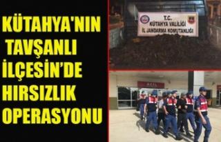 KÜTAHYA'NIN TAVŞANLI İLÇESİN'DE HIRSIZLIK...