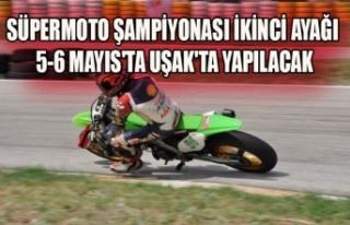 SÜPERMOTO ŞAMPİYONASI İKİNCİ AYAĞI 5-6 MAYIS'TA...